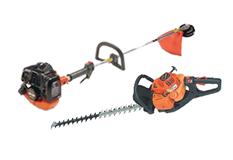 Chainsaw and strimmer parts, repairs and hire
